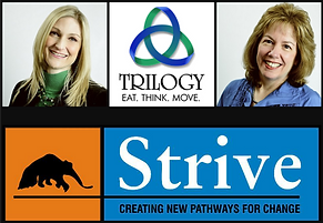 Trilogy Strive logos.png