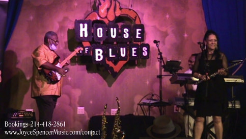 Joyce Spencer Trio at House of Blues