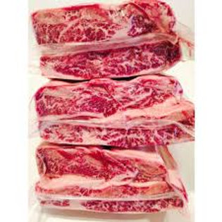 Beef Short Ribs Bone In 2 Bone Portion Fresh USDA Choice $16.50 per pack