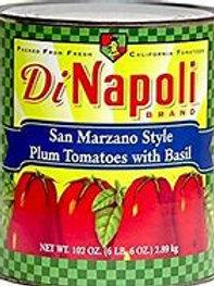 DiNapoli San Marzano Whole Plum Tomatoes #10 Cans (105 Ounces)