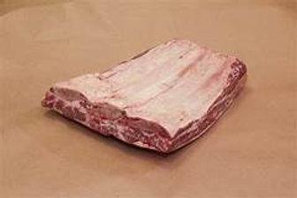 Beef Plate Short Rib Whole Slab - 3 bone - 5# Average USDA Choice Fresh