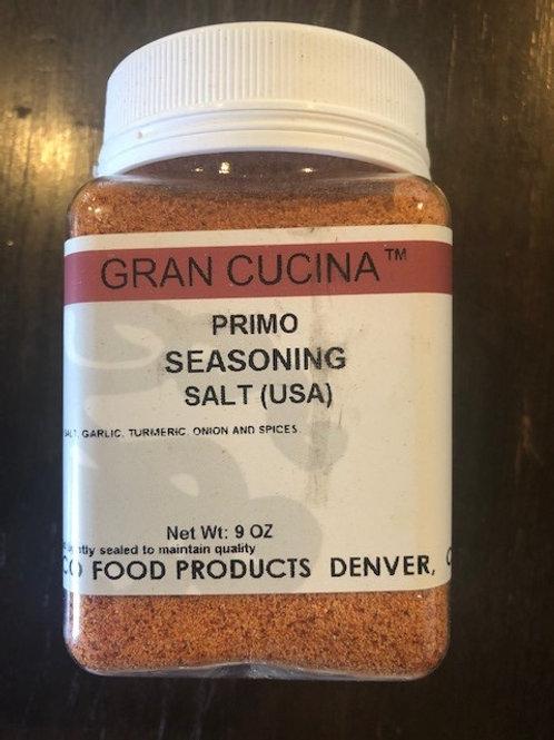 Primo Seasoning Salt 9oz Jar $6.50 each