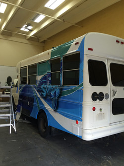 School Bus 3M Wrapping