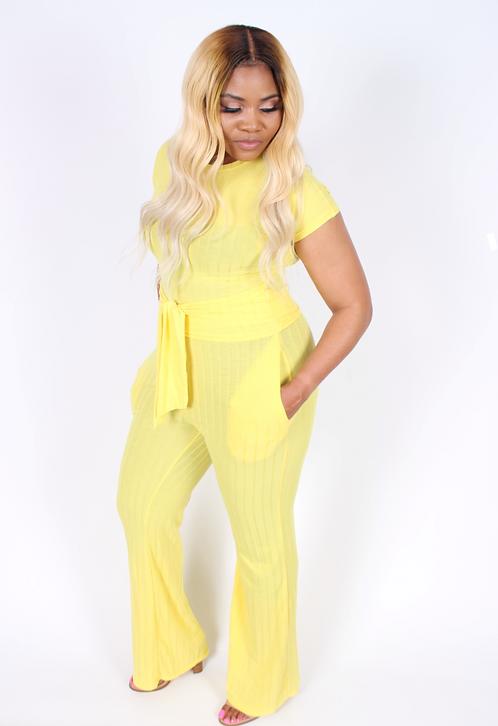 Sassy (Yellow)