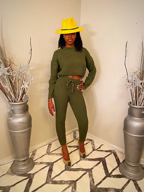 Sweat Her (Olive set)