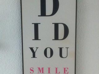 Lächeln Sie!