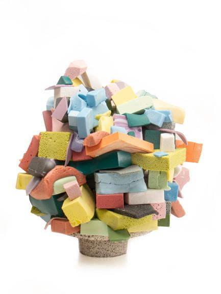 Multicolored Glaze Stack