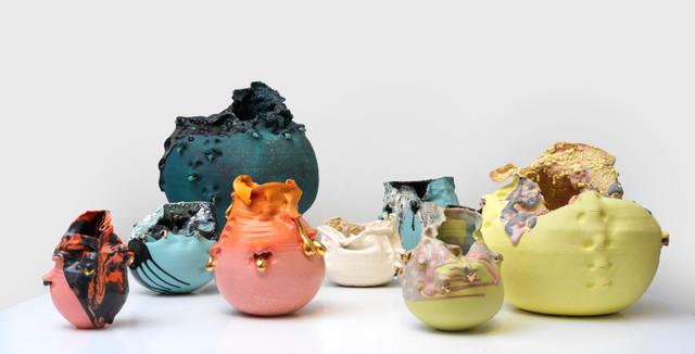 Vue de l'exposition Sandrine Pagny