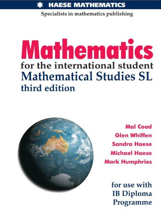 Mathematics for IB SL.JPG