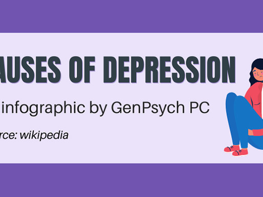 7 Causes of Depression [infographic]