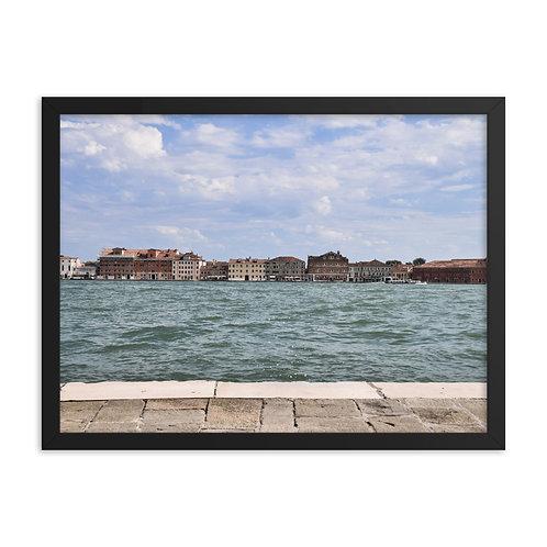 Framed poster: Venice 004