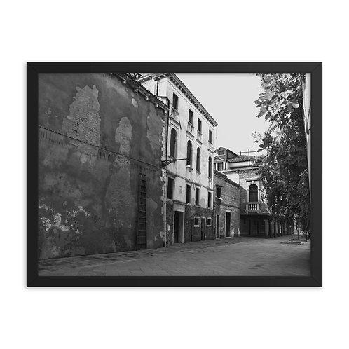 Framed poster: Venice 005