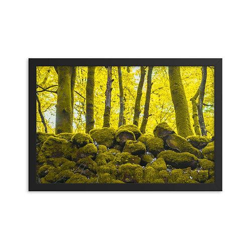 Framed poster: Labyrinth 002