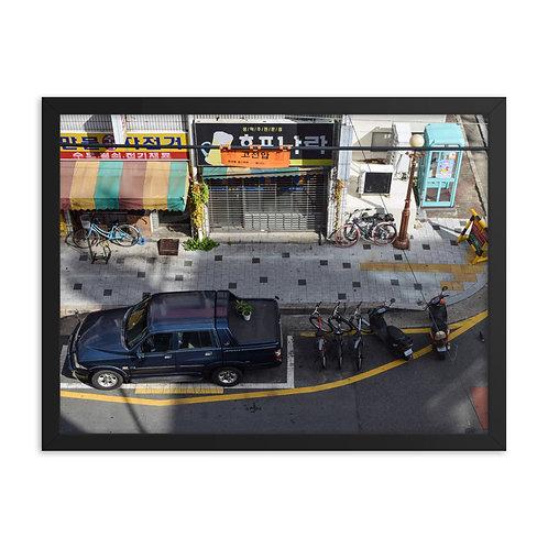 Framed poster: Daegu 001