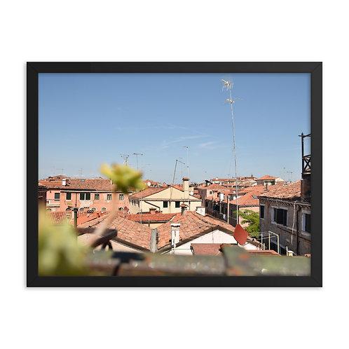 Framed poster: Venice 001