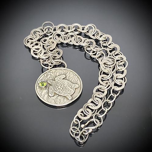 Deep Sea Turtle Totem Necklace