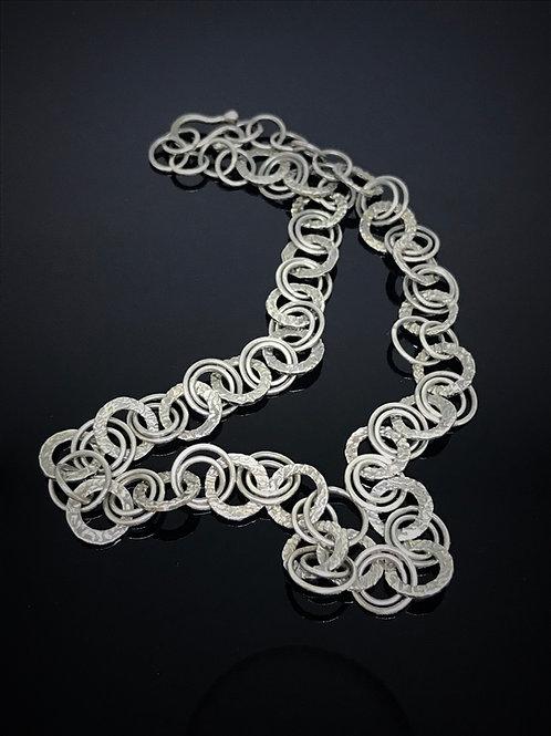 Precious Metal Clay & Fine Silver Necklace