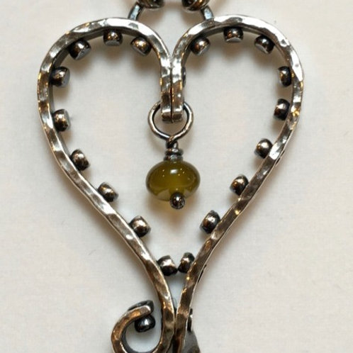 Riveted Heart Pendant Kit