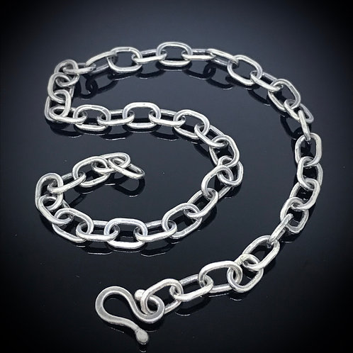 12 Gauge Simple Link Necklace