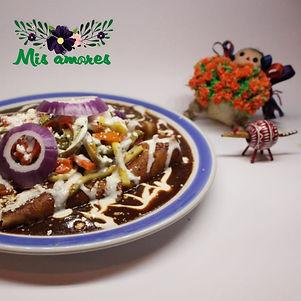 Mis amores enchiladas