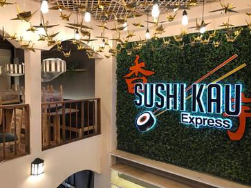Montaje Sushi Kau Bogotá