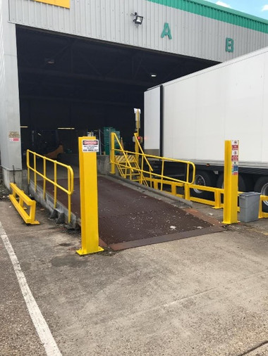 Loading Bay DHL Maidstone