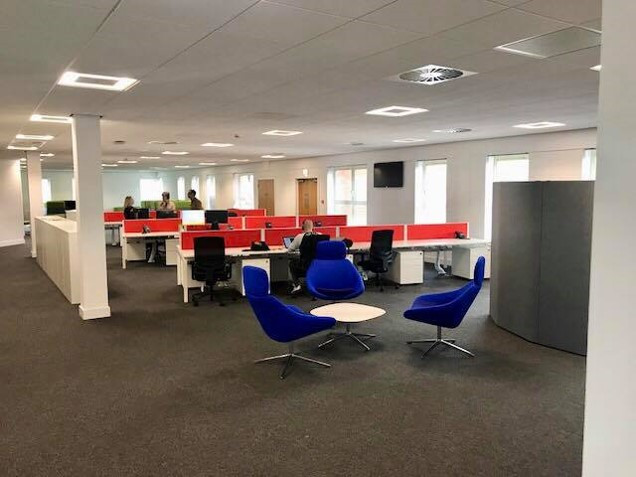 DHL Tamworth Office Suite