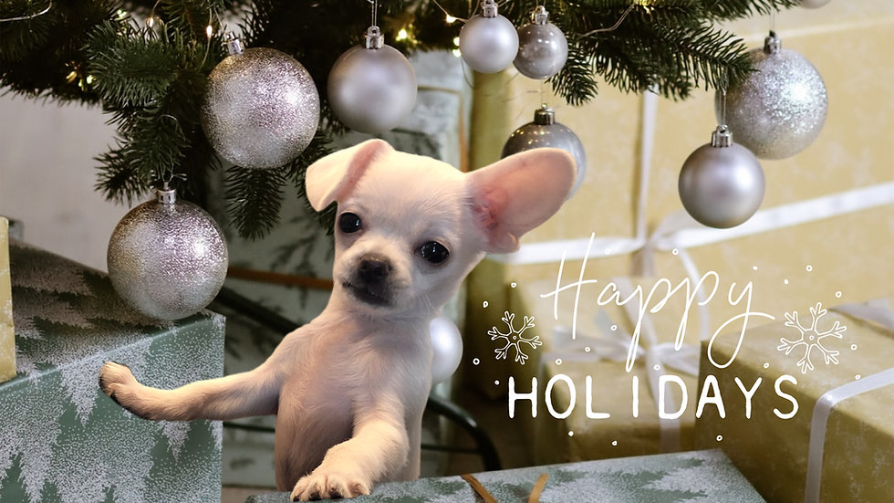 Pepper Potts Christmas Card