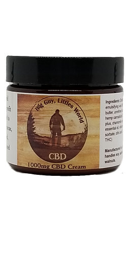 1000mg Full Spectrum CBD Oil - Topical Cream