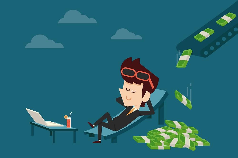 cara menghasilkan passive income dari bisnis