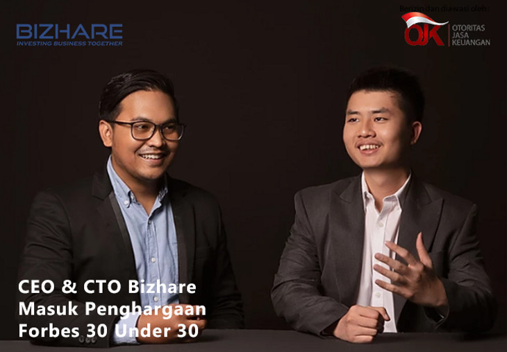 CEO & CTO Bizhare Masuk Penghargaan Forbes 30 Under 30 di Awal Tahun 2020