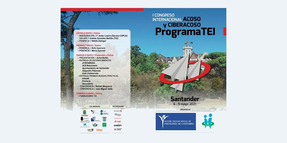 I Congreso Internacional Acoso y Ciberacoso Programa TEI