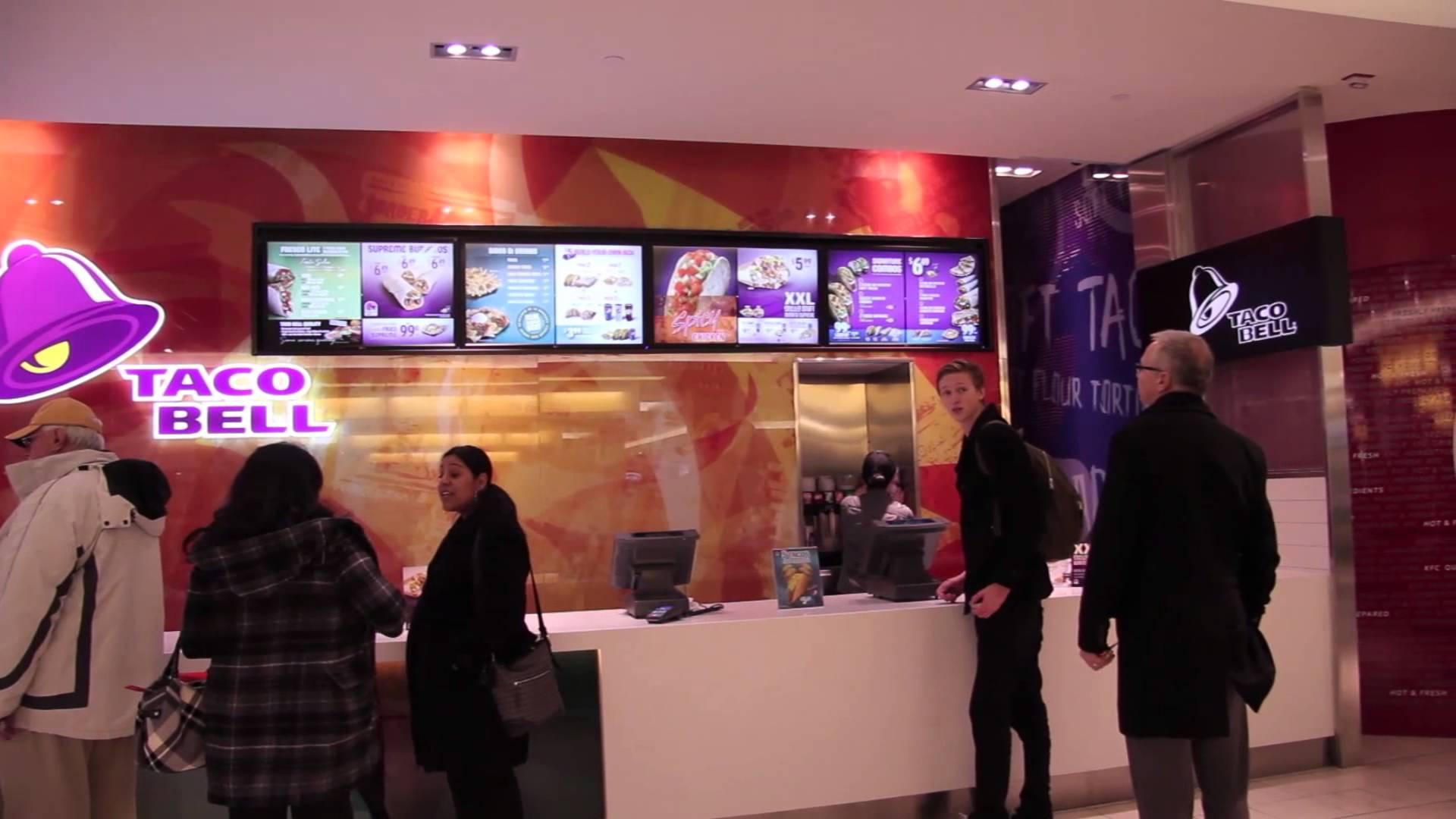 Pantallas Fast Food