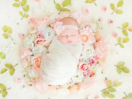 Everly, A Sweet Newborn Session