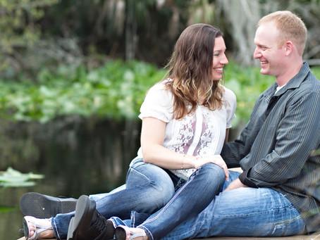 Sweet Couple At Wekiva Island