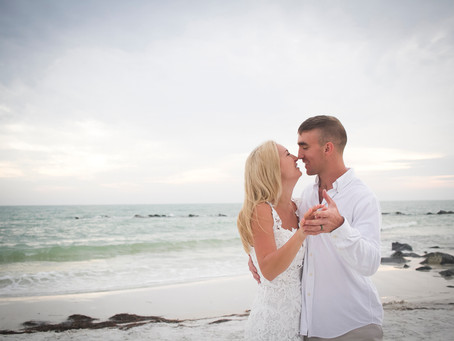 Couples Session in Clearwater Beach, Florida