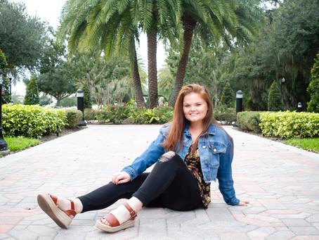 Senior Photos | Winter Springs, Florida