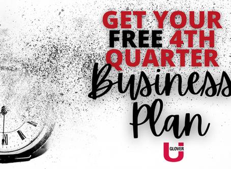 Jeff Glover's 4th Quarter Business Plan