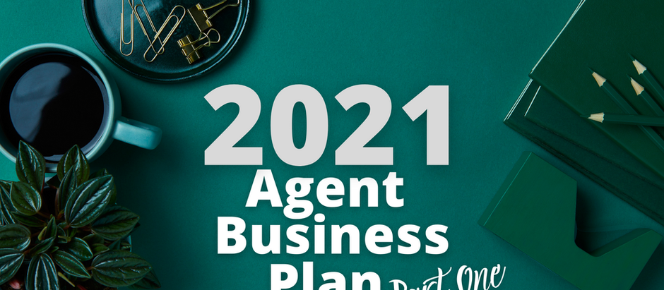 2021 Agent Business Plan - Part One