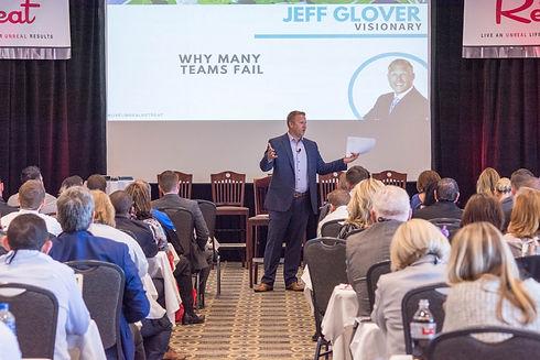 Jeff Glover Speaking at Convention