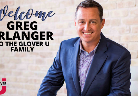 Welcome, Greg Erlanger! Special Message from Jeff Glover