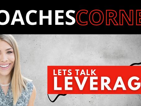 Let's Talk Leverage with Head Coach, Kate Simon
