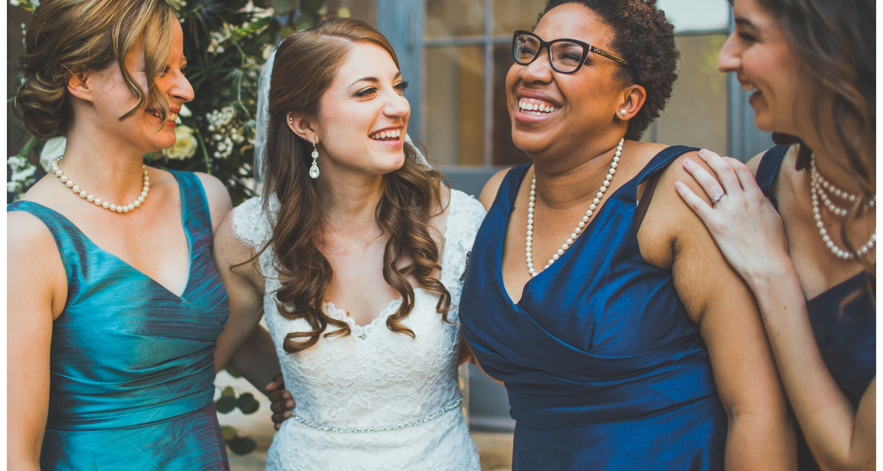 New Orleans Bridal Party makeup and hair