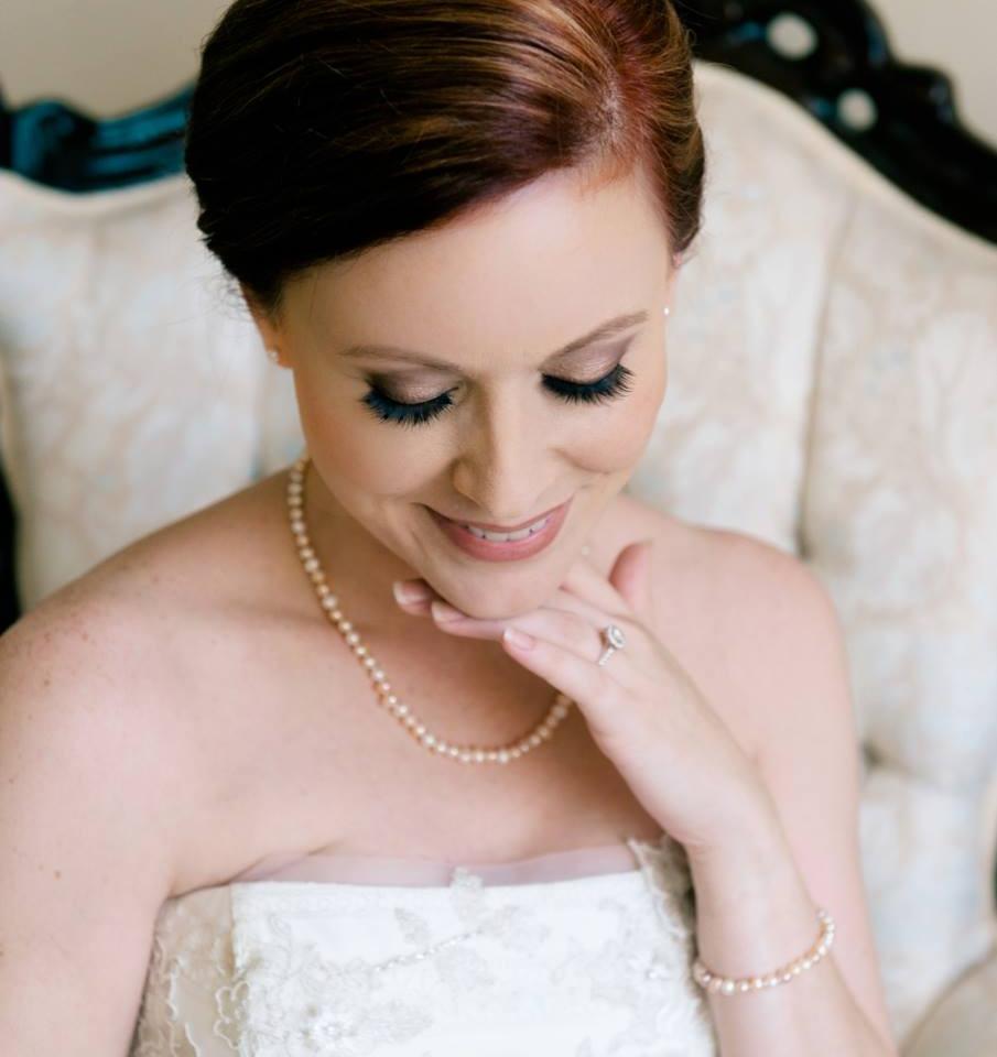 Denham Springs bridal makeup and hair