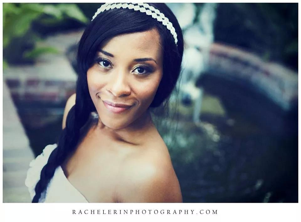 bridal portrait makeup