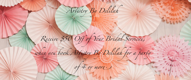 Bridal Package Coupon!