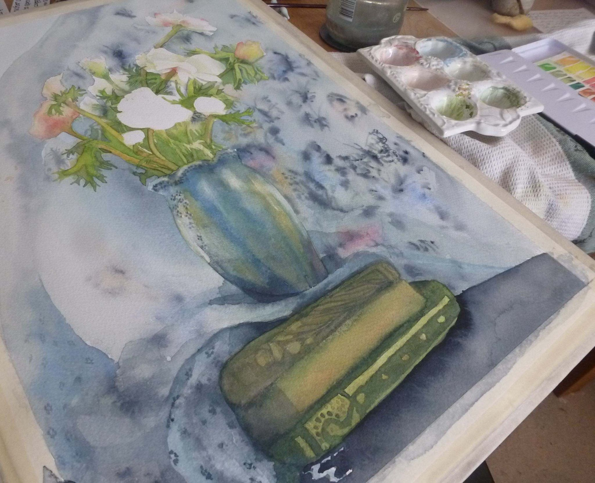 anemonies on books part finished