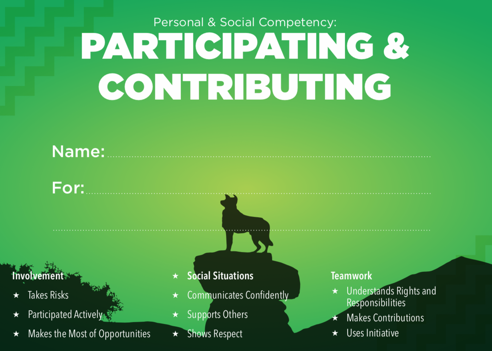 ParticipatingContributing