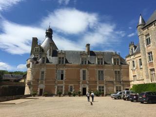 L'aile renaissance construite par Jean de Chasteigner