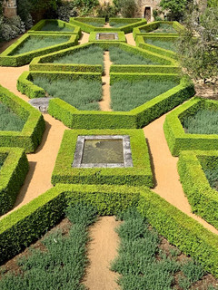 Jardins suspendus sur la Vienne dessiné par paysagiste italien Paolo Perjone